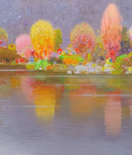 otono en la laguna